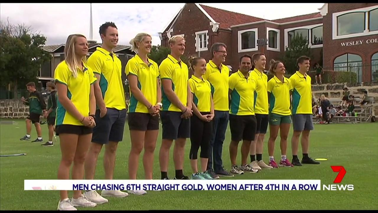 The men's and women's Commonwealth Games teams were announced today.
