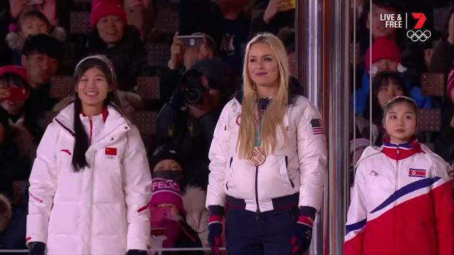There was no way shirtless Tongan Pita Taufatofua was going to miss out on the closing ceremony in PyeongChang.