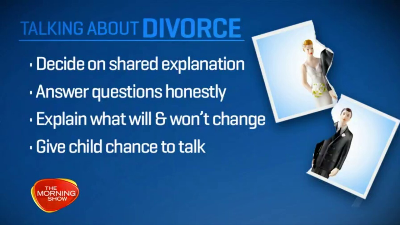 Dr Sarah Hughes, a child psychologist and author shares the best methods to telling your children you're divorcing.