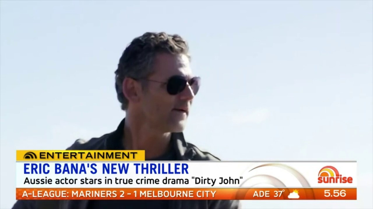The Aussie actor stars in true crime series 'Dirty John'