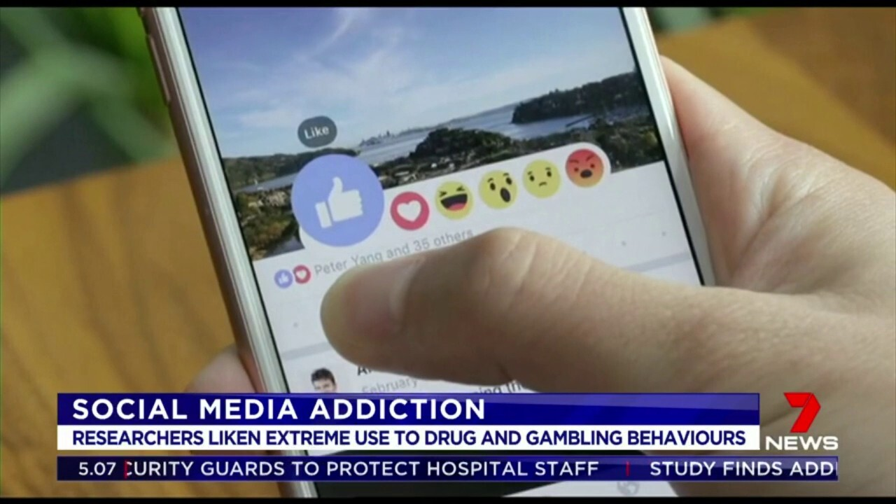 A world first study has found the behaviour of extreme social media users is similar to that of drug addicts and gamblers