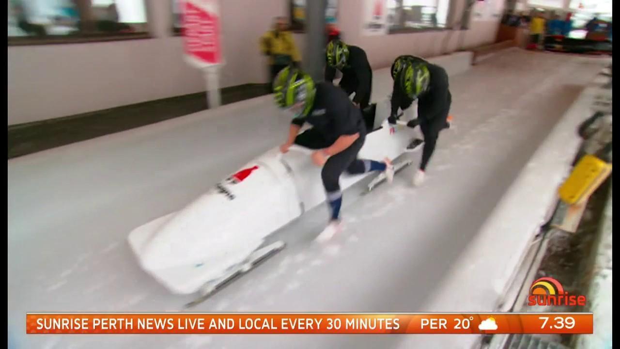 The Australian 4-man team begin competition on Saturday