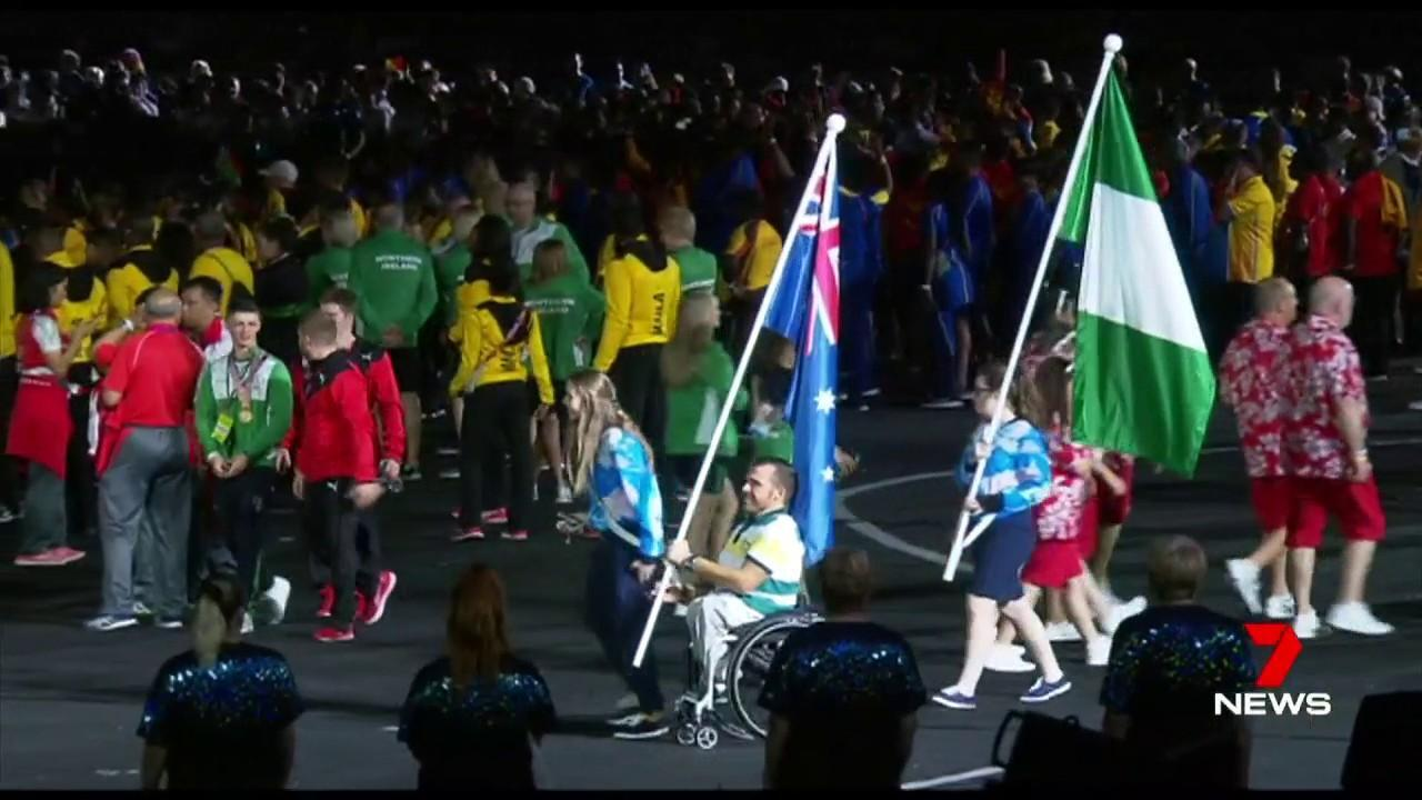 Channel 7 viewers were disappointed after they were denied the opportunity to see flag bearers.