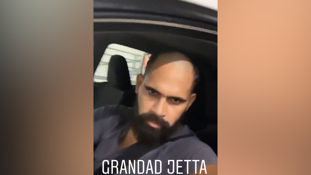 WATCH: Nic Naitanui was among the first of the Eagles to poke fun at Lewis Jetta's new haircut.