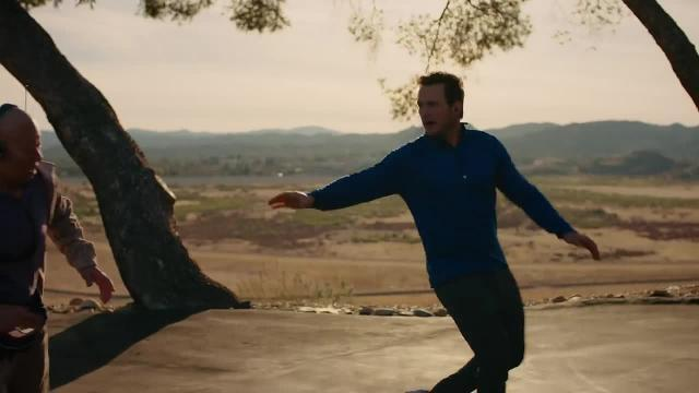 Chris Pratt becomes Captain Michelob in this ad.