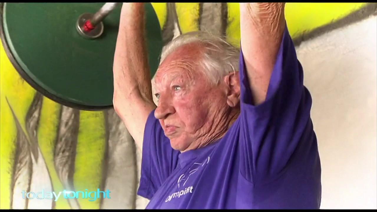 The sport is growing in popularity among older Australians.