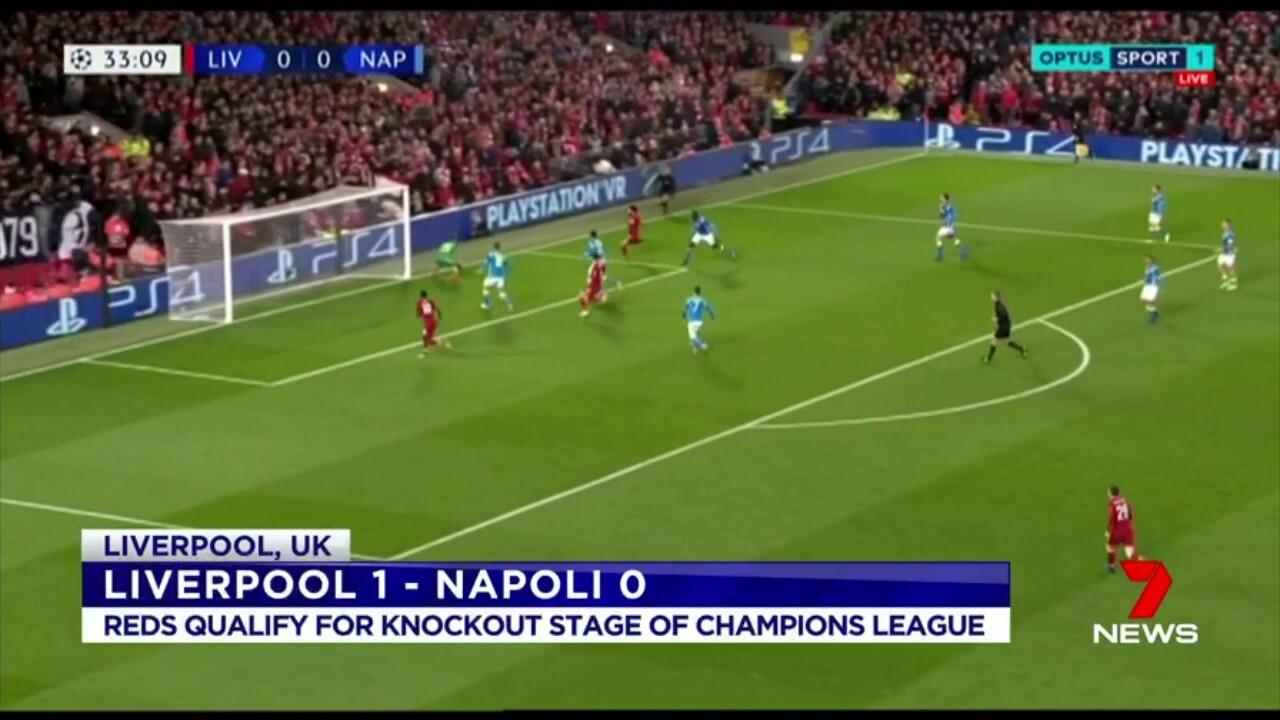 The Reds beat Napoli 1-0