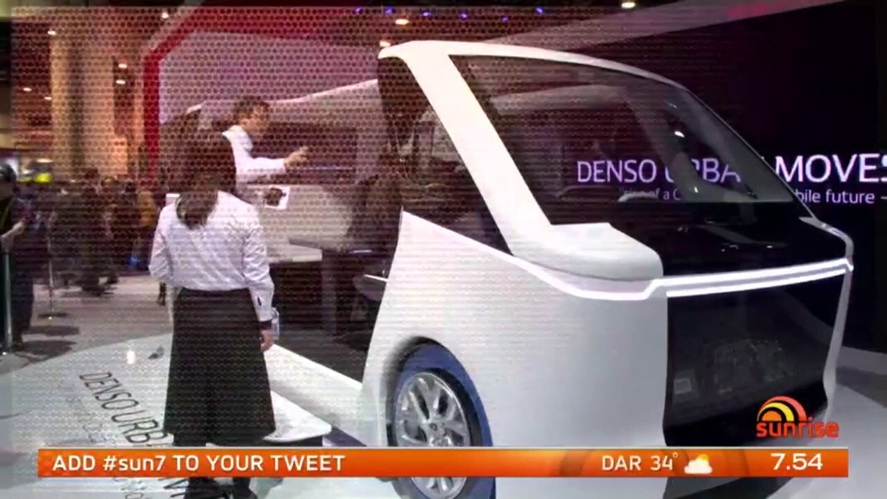 Sunrise investigates some of the car innovations coming our way from vehicles that can read emotions to ones that fly