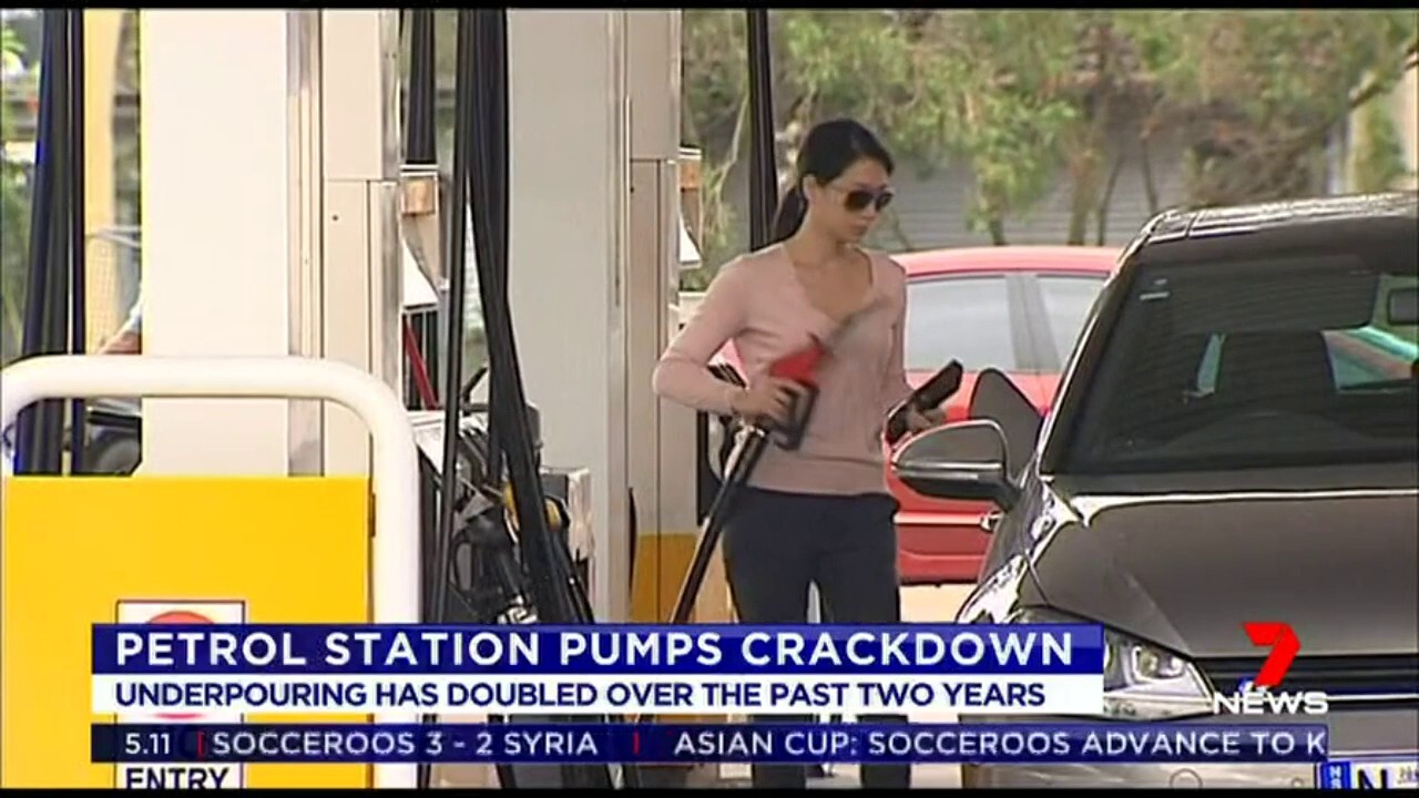 Figures show under pouring has doubled over the past two years with almost 5% of pumps not distributing the right amount of fuel