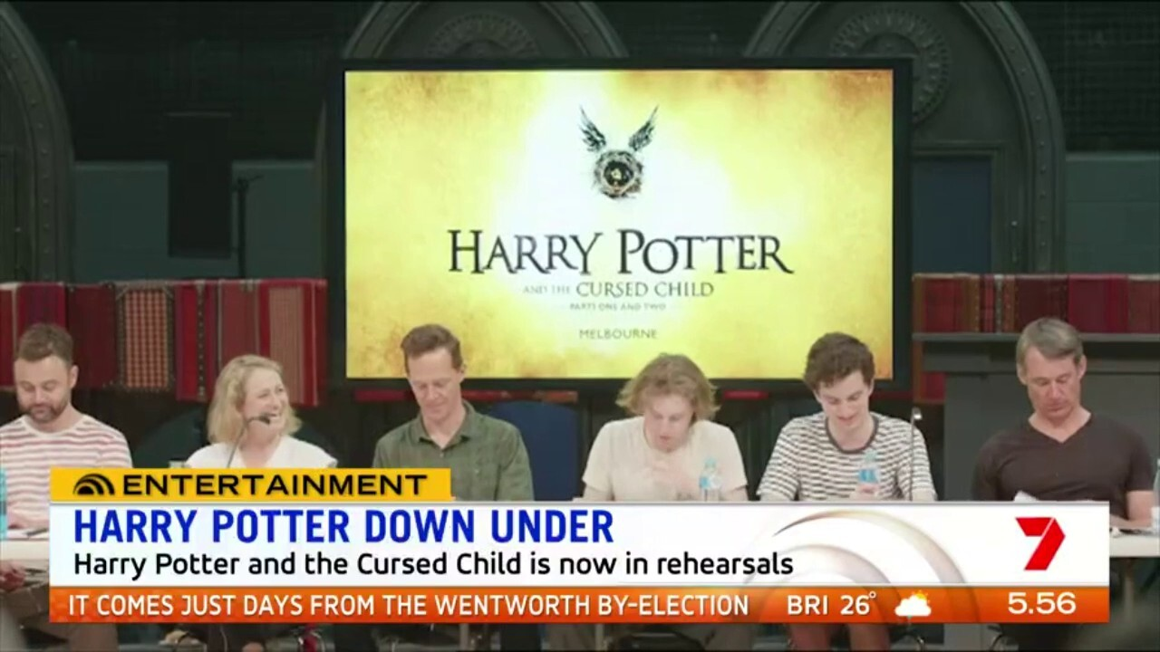 A first look at the full cast preparing for their starring roles in the Australian production of Harry Potter and The Cursed Child