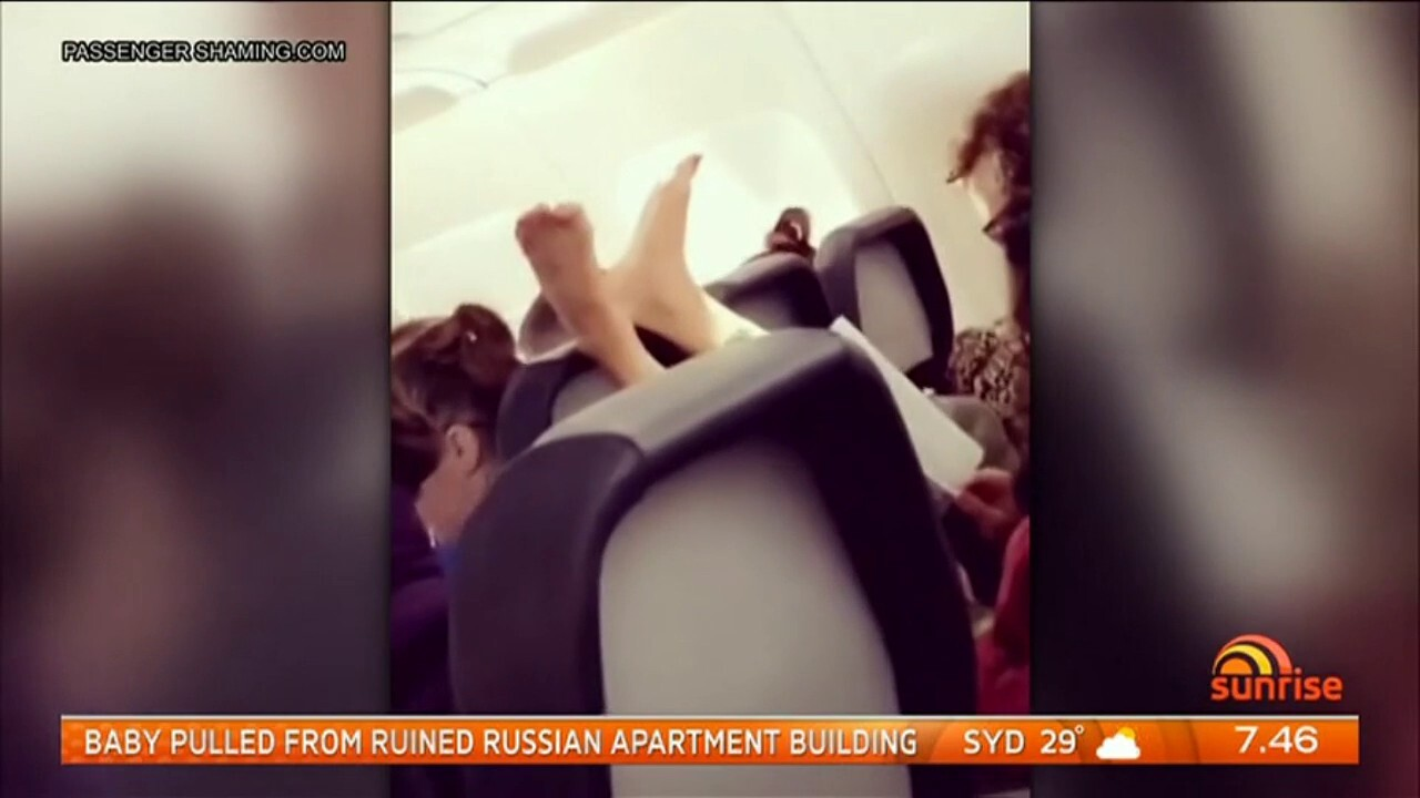Instagram account Passenger Shaming shares the world's worst air passengers from unbearable body odour, bare feet on seats and a woman who set up a child's potty in the aisle