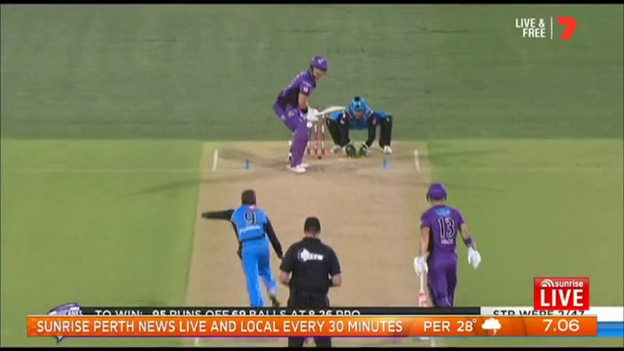 Matthew Wade and Darcy Short have strengthened their world cup claims, helping Hobart win over Adelaide.
