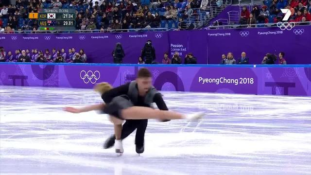 The first Aboriginal athlete to compete for Australia at the Winter Games makes his debut alongside partner Ekaterina Alexandrovskaya in the figure skating.