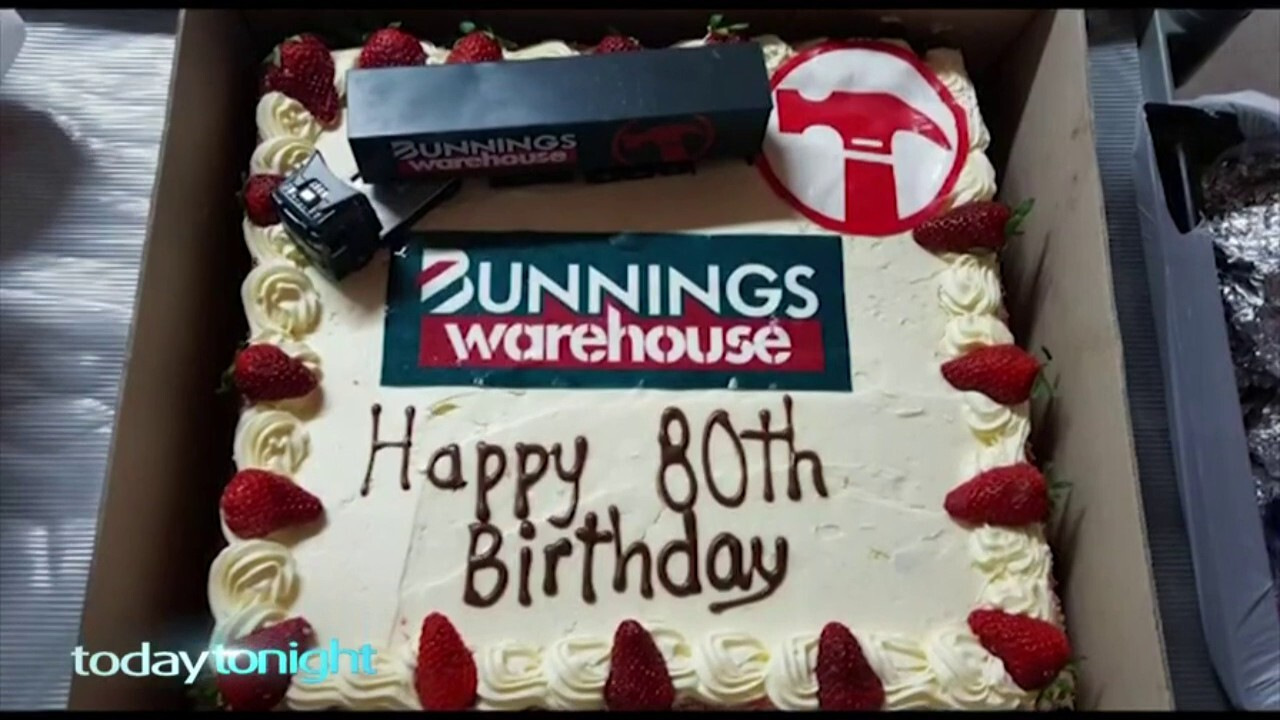 Meet the great grandfather whose Bunnings birthday dream came true.