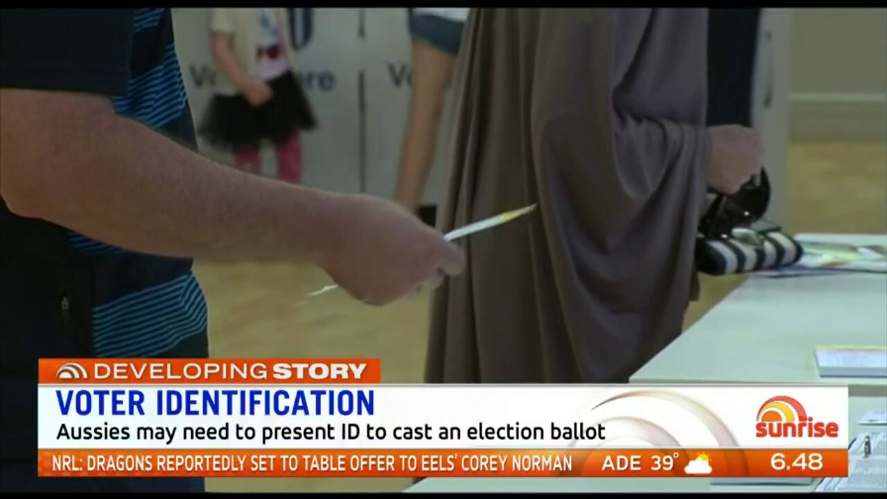 A proposal for Aussies to show ID before casting a vote has been put forward in a government report. Sunrise discuss