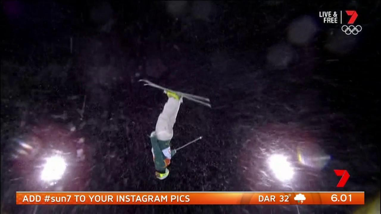 He took out silver in the men's moguls.
