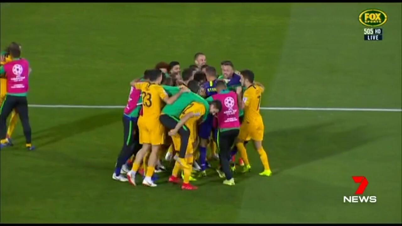 Mat Ryan stars in a penalty shootout win over Uzbekistan.