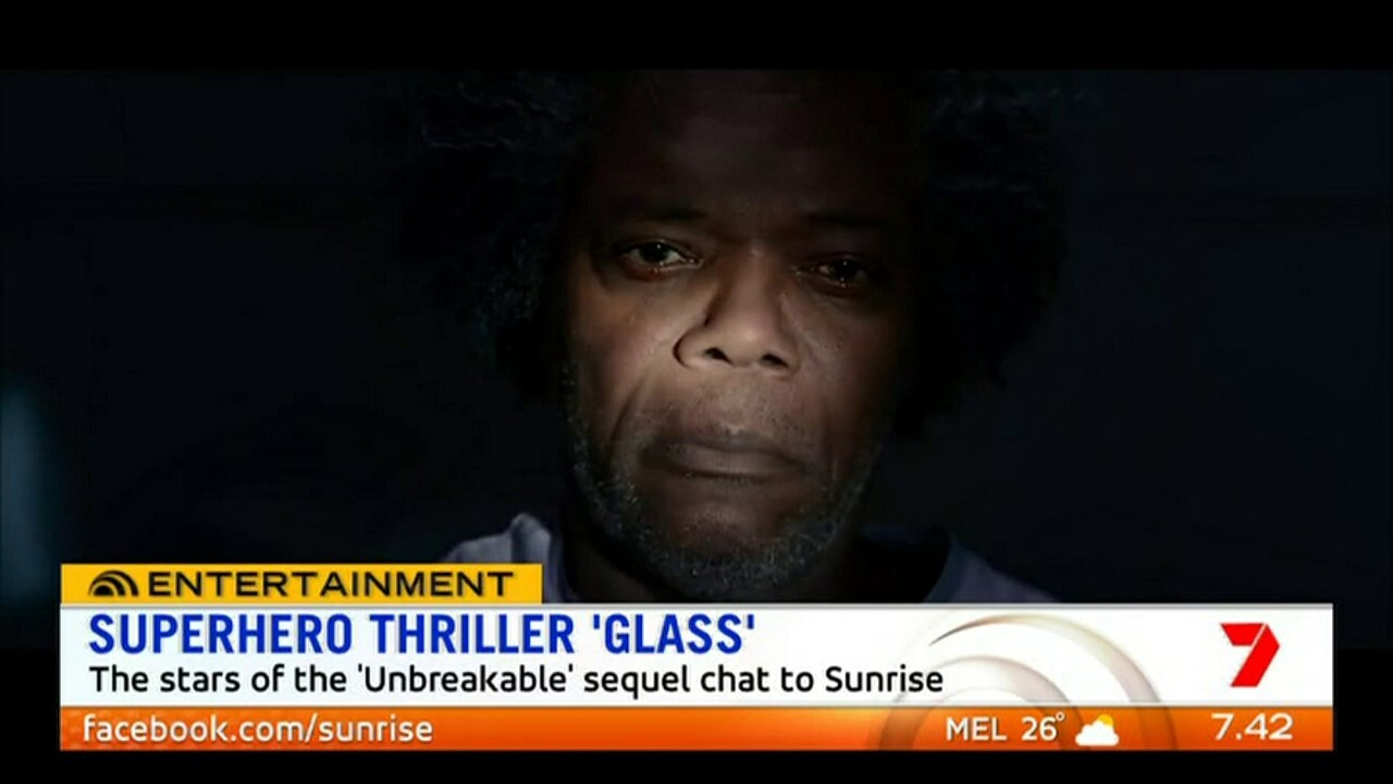 The stars of the 'Unbreakable' sequel 'Glass' speak to Sunrise about the superhero thriller