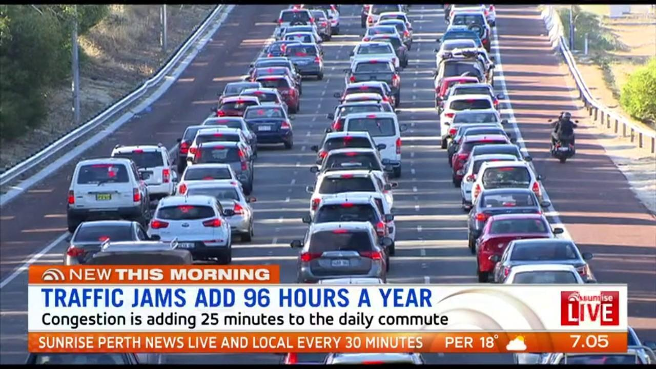 Measures to break Perth's gridlock are not sustainable: Congestion