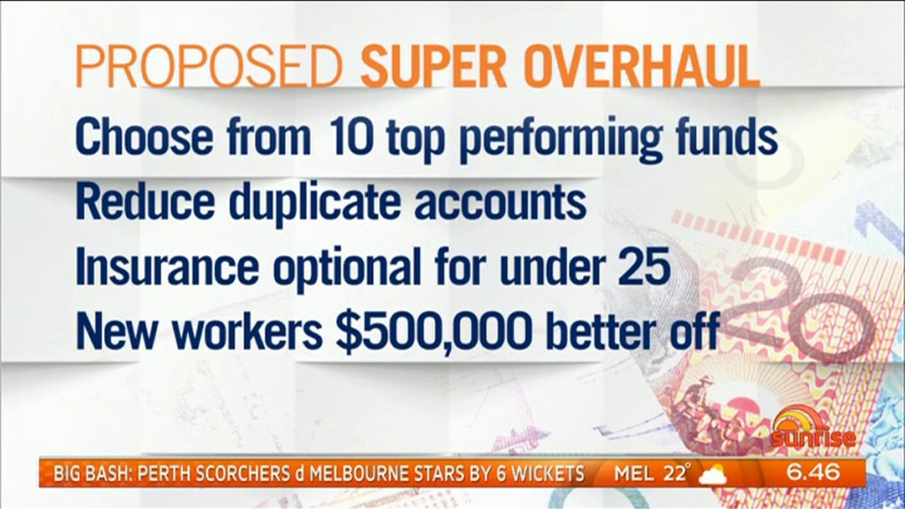 Australians could retire with much more superannuation under a proposed super overhaul