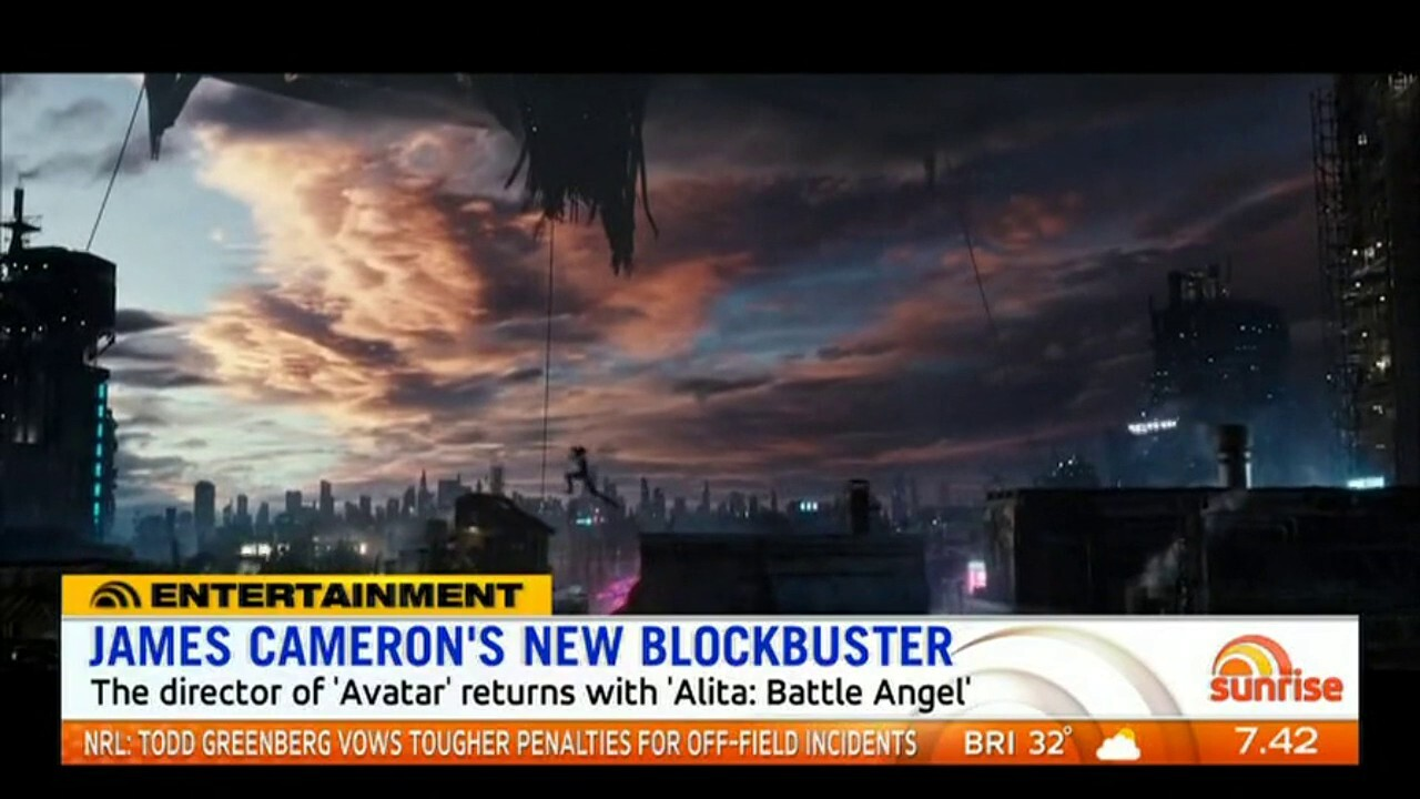 The director of 'Avatar' returns with 'Alita: Battle Angel'.