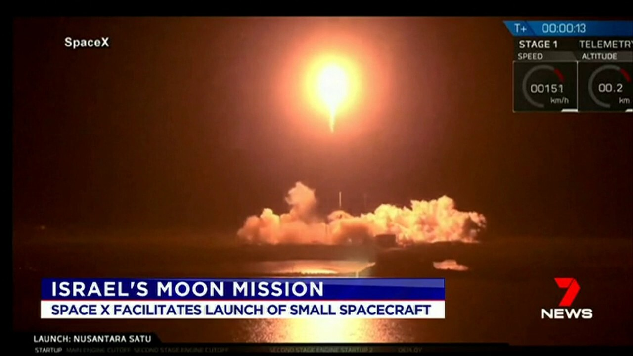 Israel could become the fourth country to land on the moon after deploying its first home grown space craft.