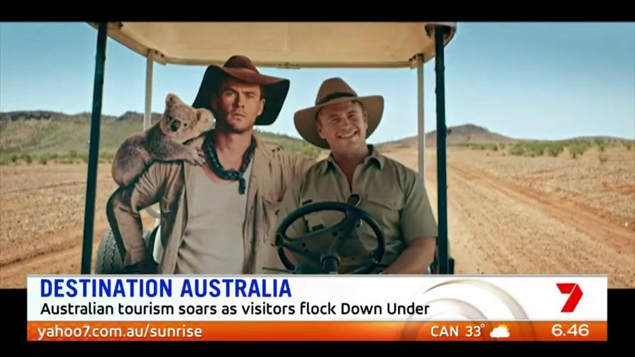 Visitor numbers to Australia jumped 6% in the past year with Chinese visitors leading the charge