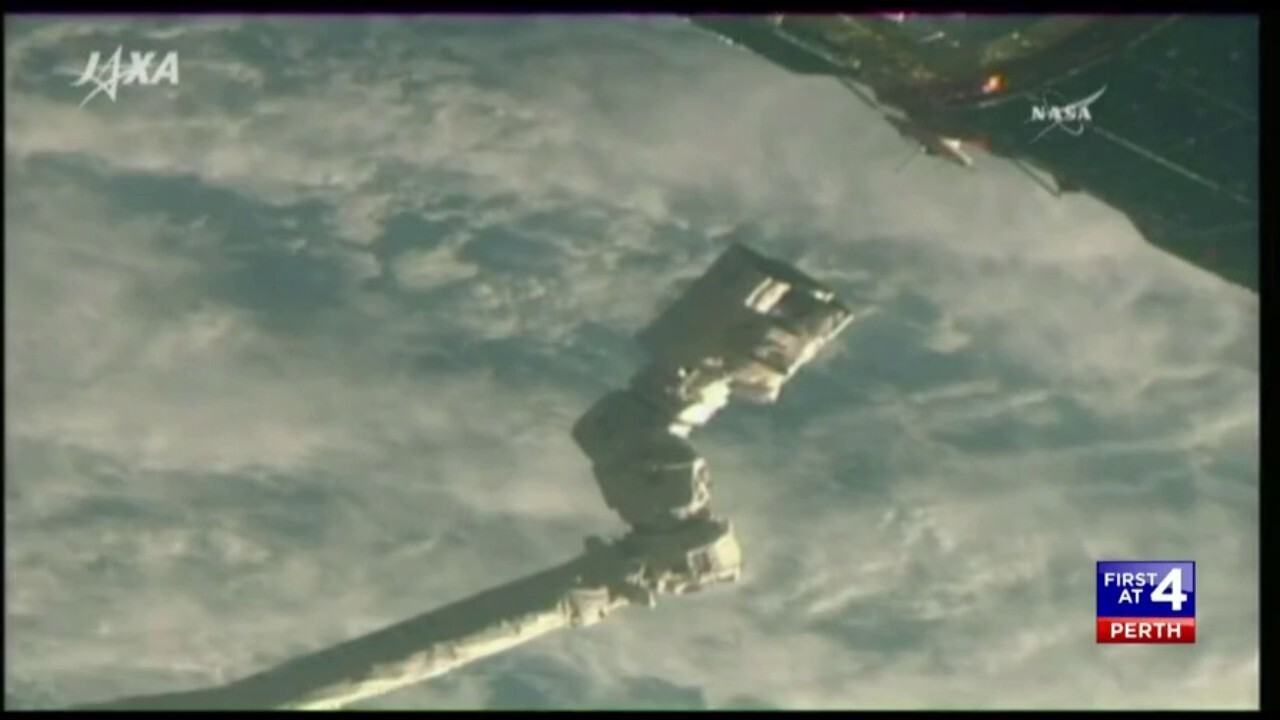 A Japanese spacecraft is returning to Earth following a mission to the International Space Station.