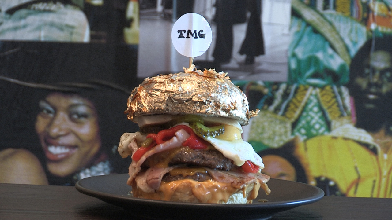 Fremantle's The Meating Ground has create a $200 burger especially for Valentine's Day meals.