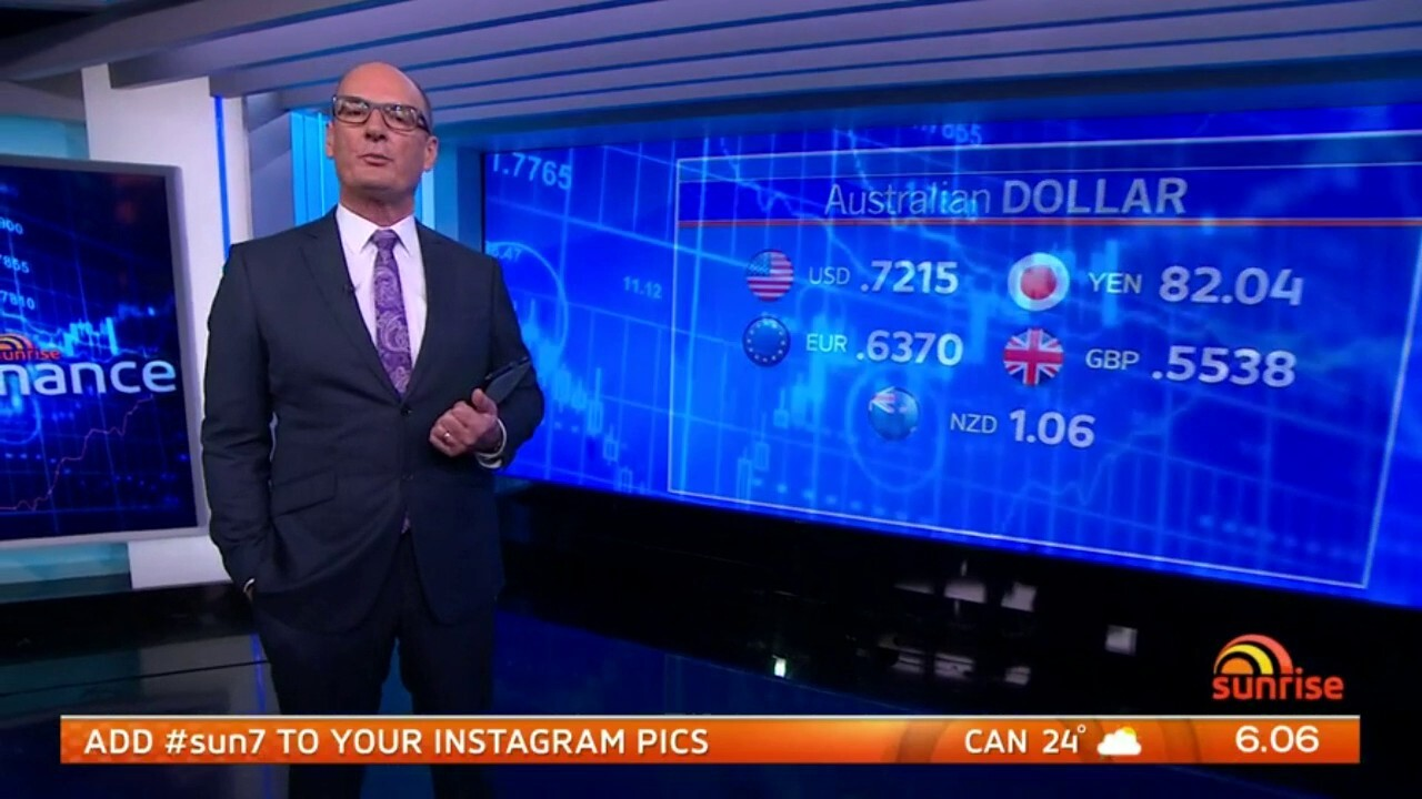 A look at today's markets with David Koch.