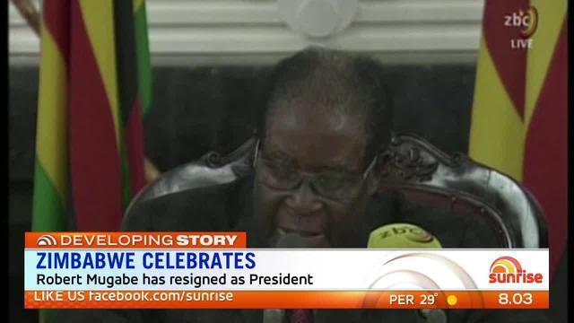 Zimbabwe is celebrating the end of Robert Mugabe's rule.
