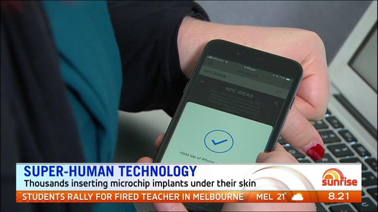 Thousands of Australians are now inserting microchip implants under their skin.