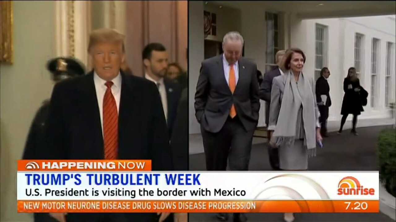 Sunrise Foreign Affairs Editor Dr Keith Suter talks about what's happening in the US as the government shutdown continues