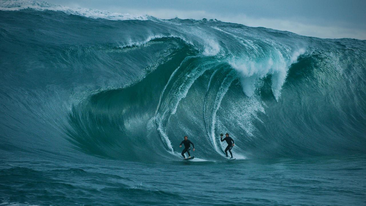 Perth big wave surfer Brad Norris thought he was going to die as he was held down by three successive waves at The Right near Walpole on Saturday.