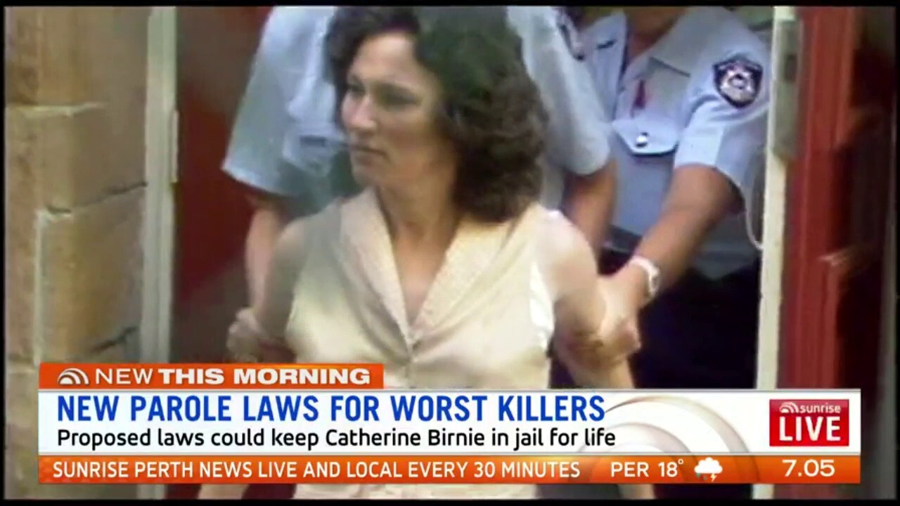 Proposed new laws which could keep serial killer Catherine Birnie in prison for the rest of her life will be introduced in Parliament today