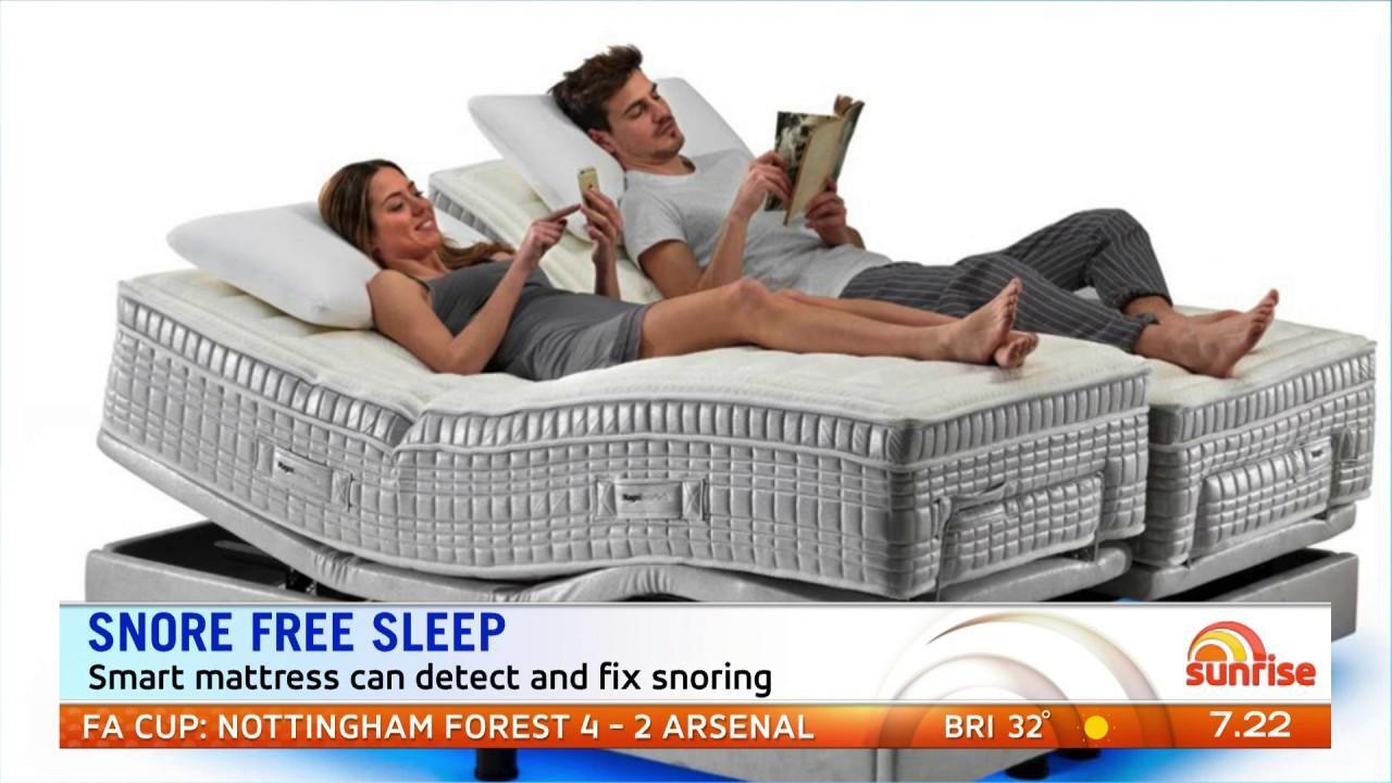 A mattress that will stop snoring is one new gadgets coming this year