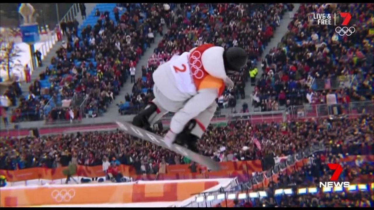 American Shaun White took home his third gold of the tournament.