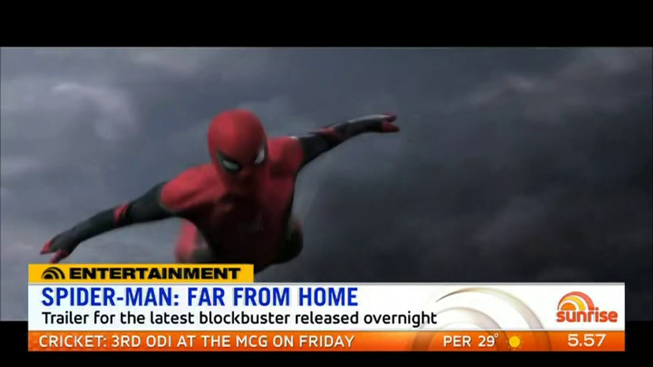 The trailer for the latest Spider-man blockbuster has been released