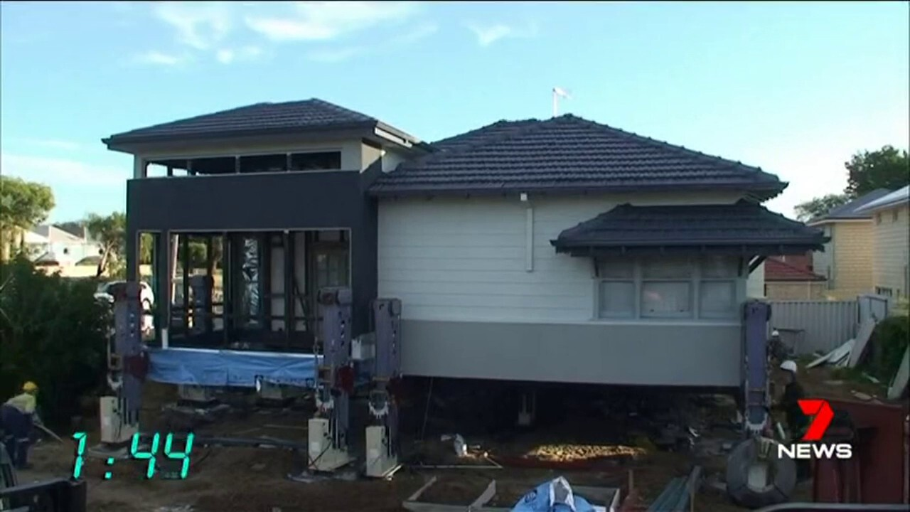A renovation revolution is underway across Perth that involves houses being lifted above the ground.