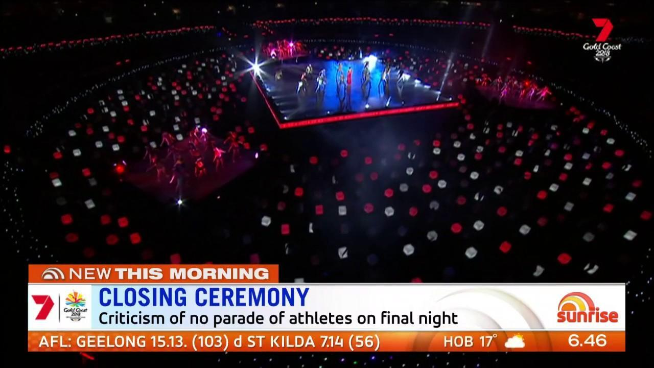 Did the organisers get it wrong by not including the parade of the athletes in the broadcast?