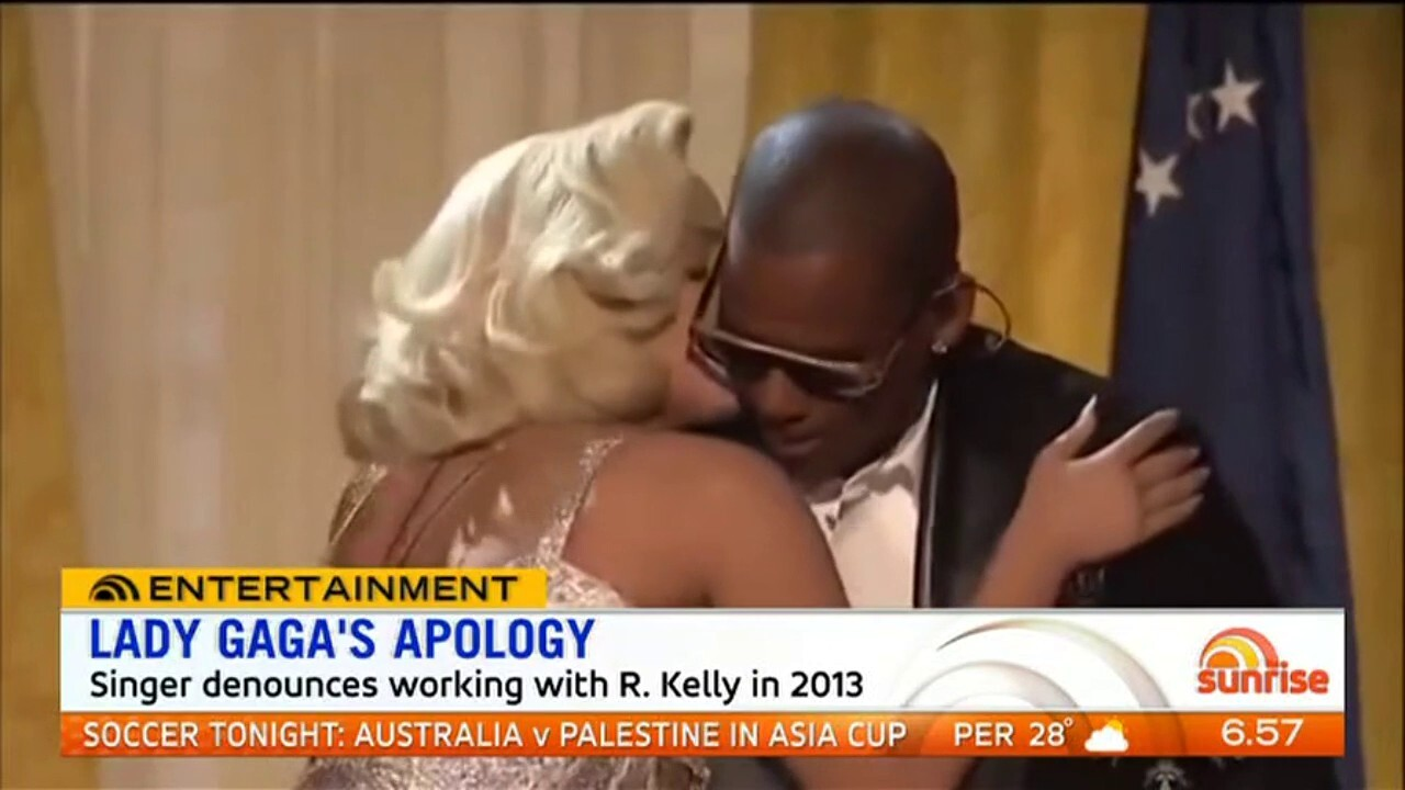 Lady Gaga has apologised for working with disgraced singer R Kelly and plans to remove their 2013 single 'Do what you want' from all streaming services