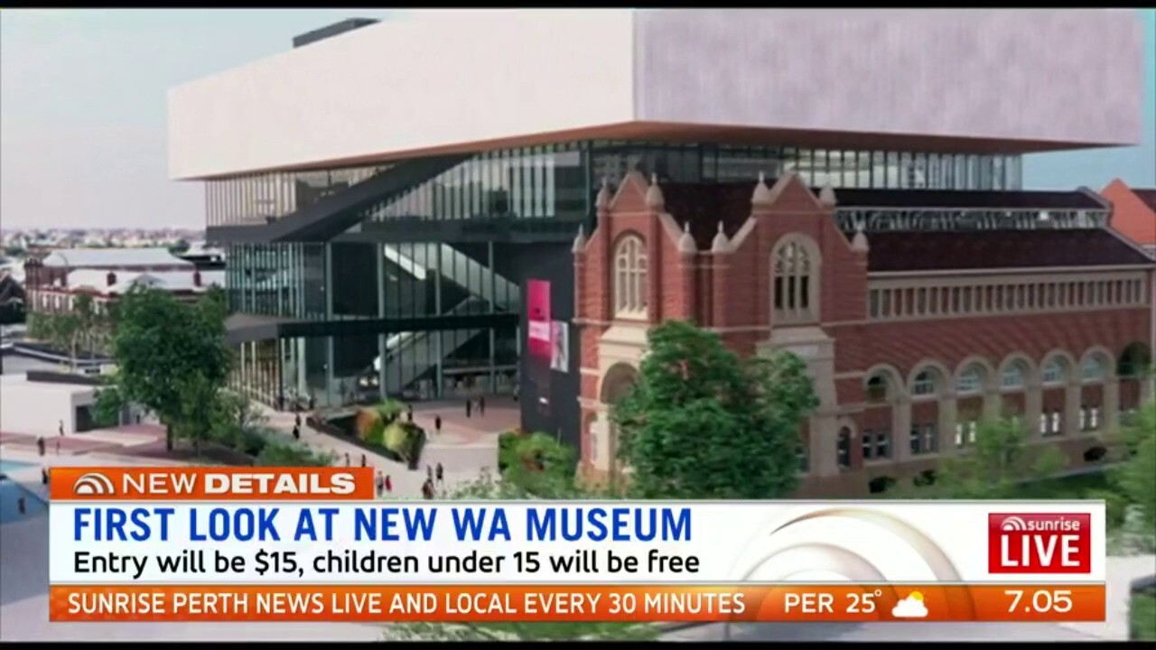 WA's new museum is 30% complete and is set to open in 2020