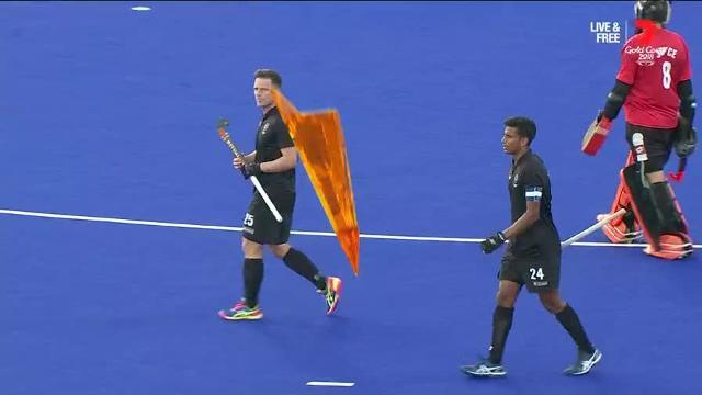 Whetton slotted the Aussies first goal in style as the Kookaburras secured a 2-1 win against rivals New Zealand to secure a semi-final berth.