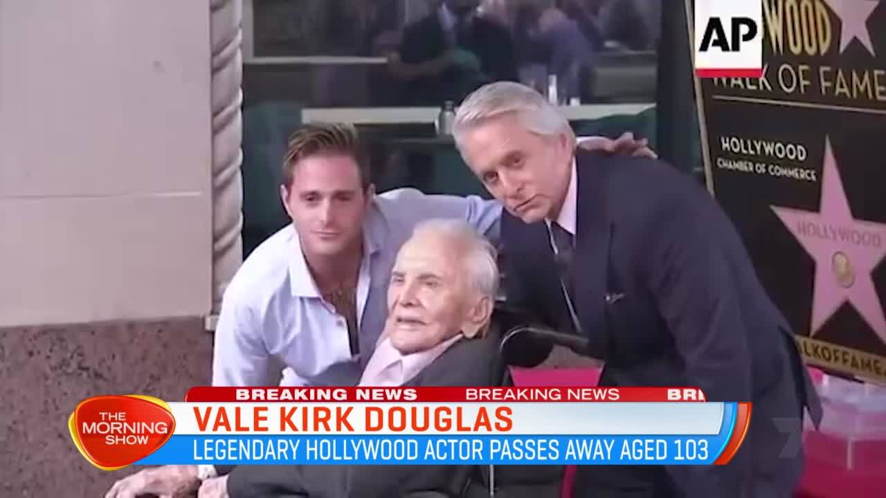 Image result for Kirk Douglas, a Star of Hollywood's Golden Age, Dies at 103