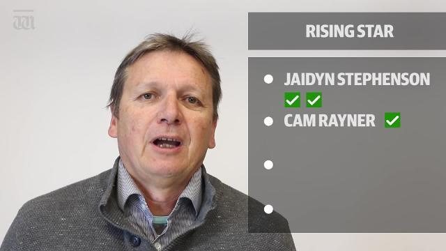 WATCH: The team were mostly convinced on who deserved to be recognised as the rising star for season 2018.
