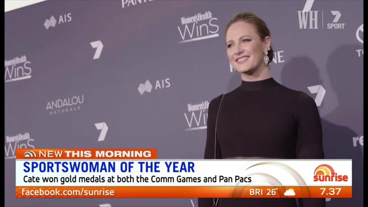 Cate Campbell speaks about winning the Sportswoman of the Year and Comeback of the Year awards