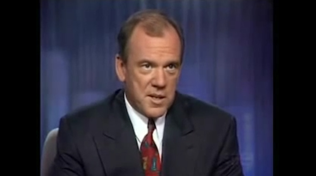 A look back at Mike Willesee's famous GST / birthday cake interview with John Hewson, in light of the sad news of Willesee's passing.