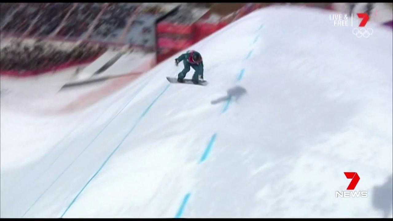 Australia's Jess Rich just missed out on making the final in the new event.