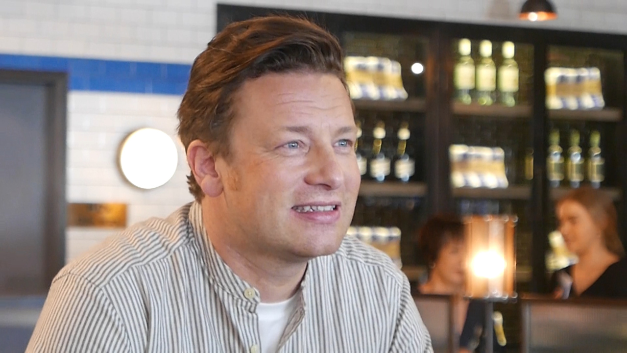 Celebrity chef Jamie Oliver gives an insight into the changes he has in store for his Australian restaurants on his whirlwind trip to Perth.