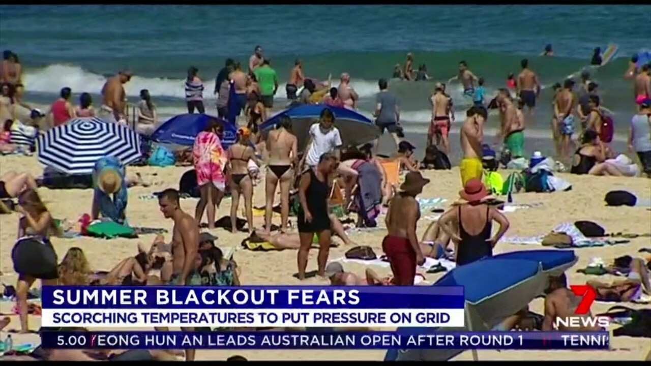 There are fears Australia's scorching summer with longer heat waves would be pressure on the nation's energy networks